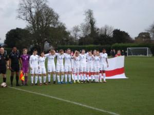 England starting 11 v France