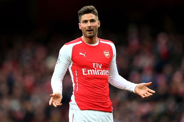 premium selection d4778 77581 Giroud turns down Podolski's shirt number - Daily Cannon