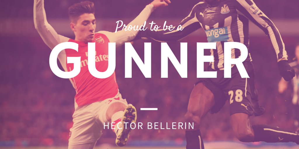 hector bellerin proud to be a gunner