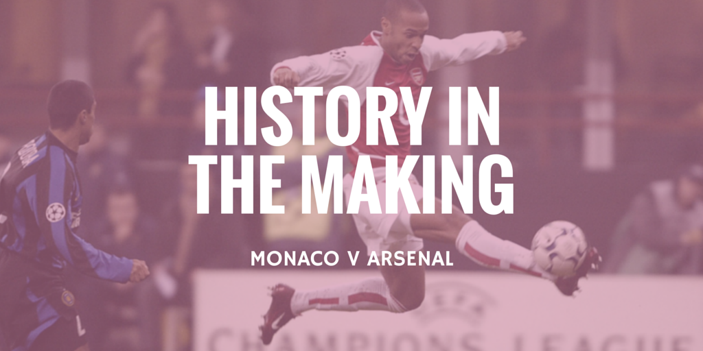 arsenal history in the making
