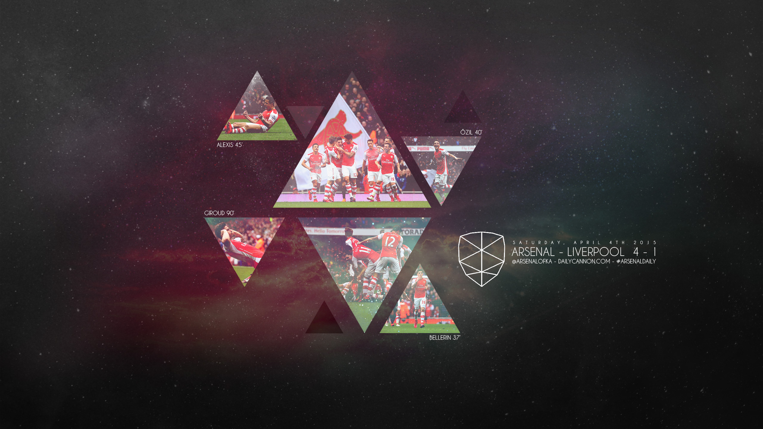Arsenal smash liverpool wallpaper headers and covers for Wallpaper photo