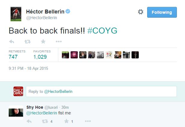 hector tweet