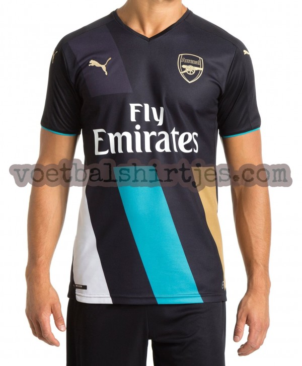 Images Arsenal Kit Emerge Daily Cannon 3rd 2015 2016 600x727